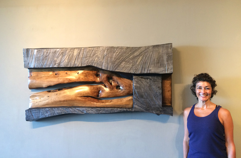 Sold! Engulf, one piece of red elm. Made and inspired by Marie.